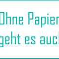Papier vermeiden