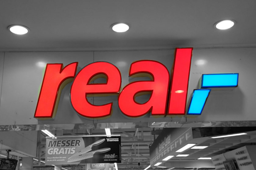 real,- Kassenbon