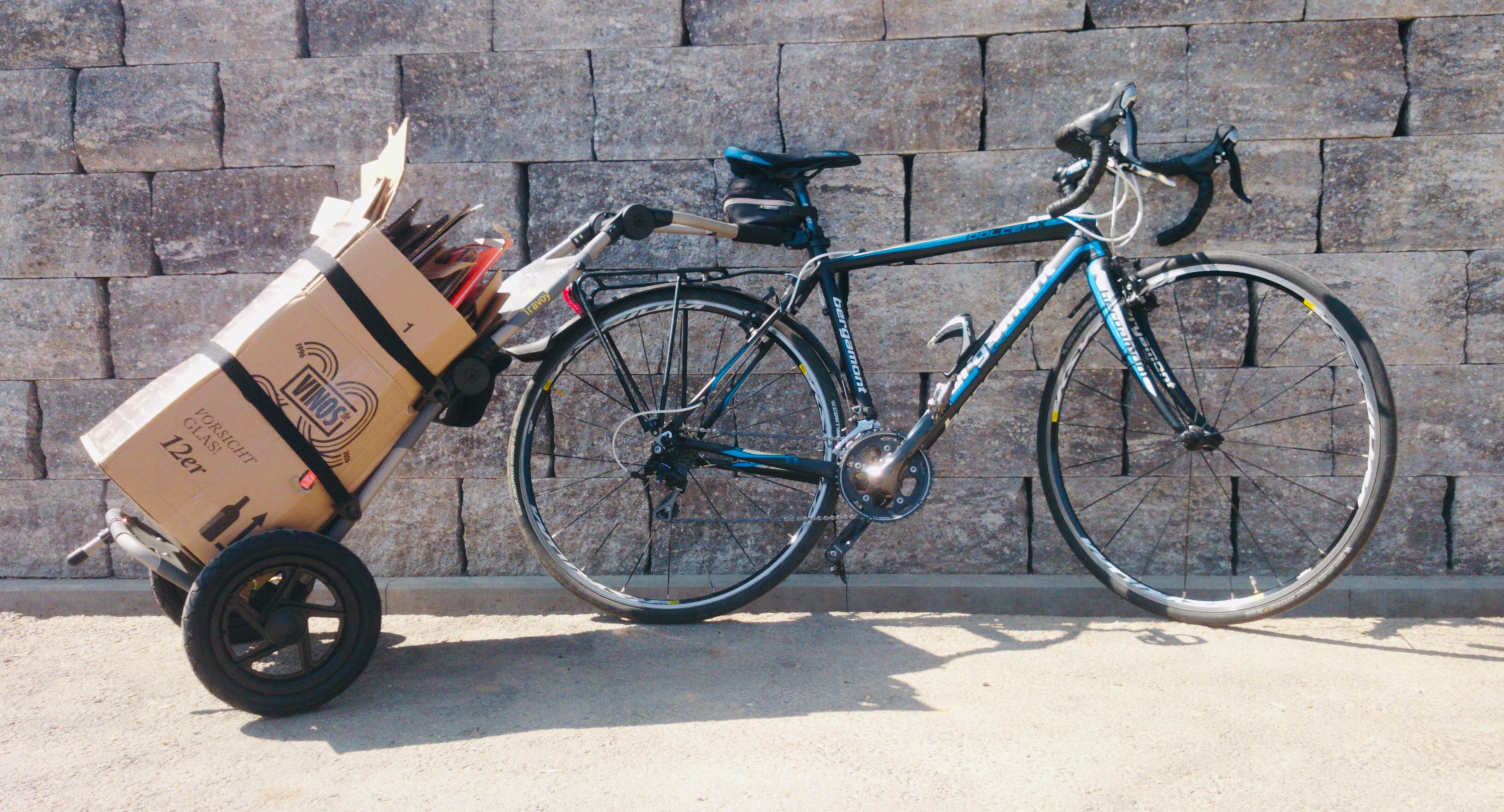 Lastenanhänger Fahrrad