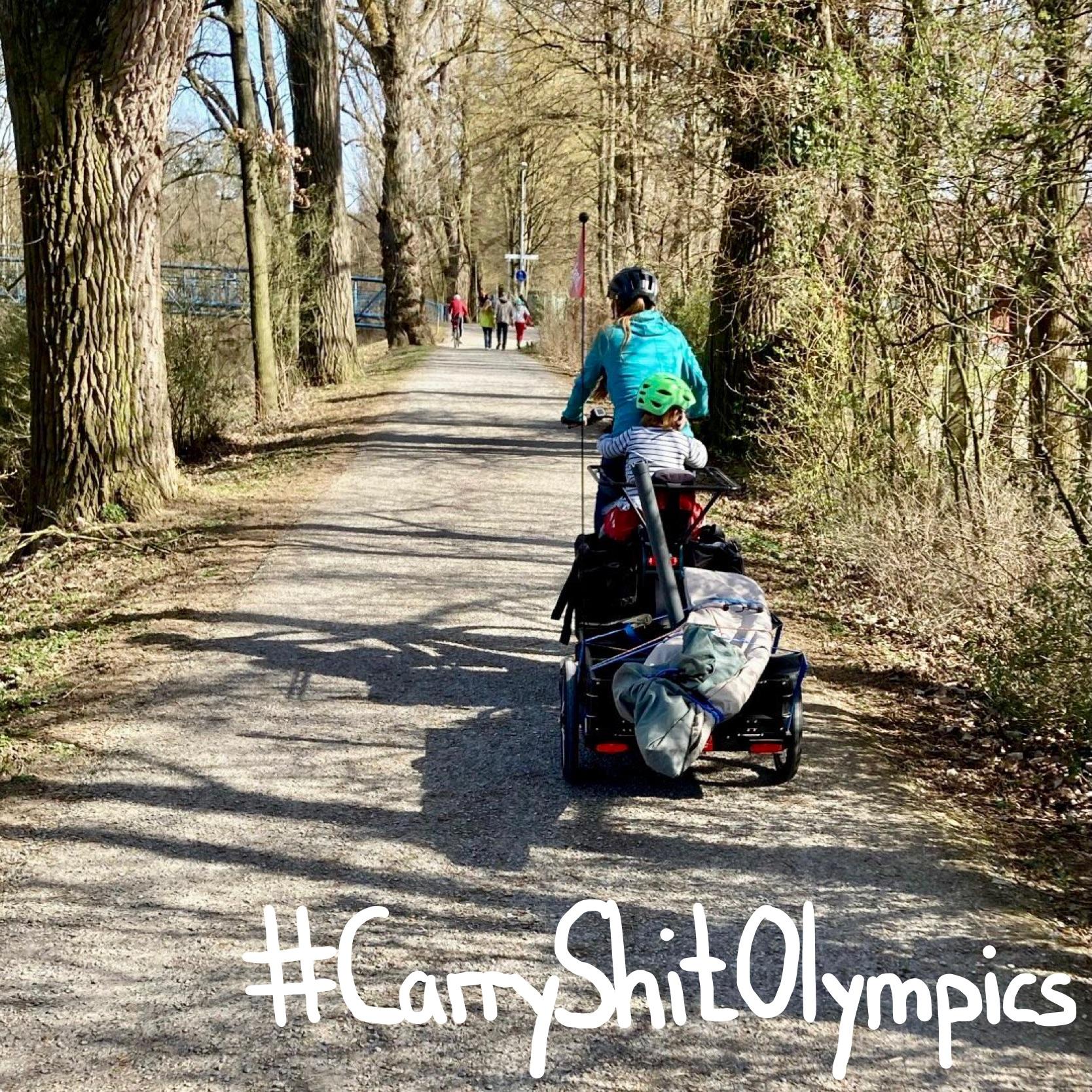 #CarryShitOlympics